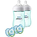 Philips Avent Natural 9 Oz. Bottle Gift Set in Teal