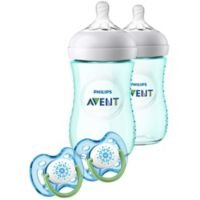 AVENT Natural 9 oz. Bottle Gift Set in Teal