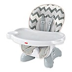 Fisher-Price® Deluxe Spacesaver High Chair in Grey/White