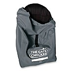 Nuby™ Car Seat Gate Checker Bag in Grey
