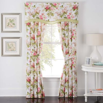 Waverly® Emmau0027s Garden Rod Pocket Window Curtain Panel Pair In Blossom
