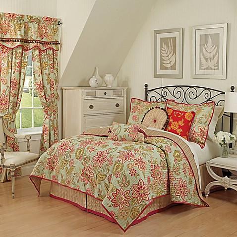Waverly 174 Charismatic Reversible Quilt Set Bed Bath Amp Beyond
