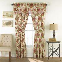 Waverly® Norfolk 84-Inch Rod Pocket Window Curtain Panel Pair