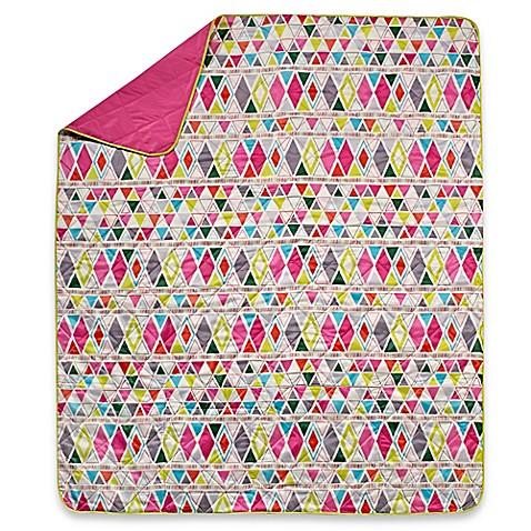 Aztec Indoor Outdoor Throw Blanket Bed Bath Amp Beyond