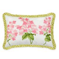 Waverly® Emma's Garden Oblong Throw Pillow in Blossom