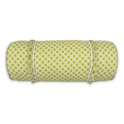 waverly emmau0027s garden neckroll throw pillow in green
