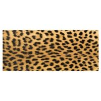 The Softer Side by Weather Guard™ 25-Inch x 60-Inch Leopard Kitchen Runner