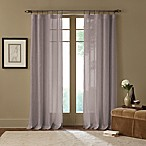 Cambria® Terra 84-Inch Rod Pocket Sheer Window Curtain Panel in Grey