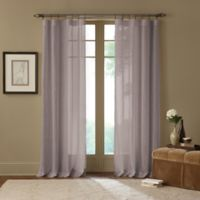 Cambria® Terra 63-Inch Rod Pocket Sheer Window Curtain Panel in Grey
