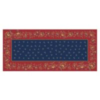 The Softer Side by Weather Guard™ 25-Inch x 60-Inch Blue Chintz Kitchen Mat