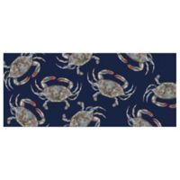 The Softer Side by Weather Guard™ 25-Inch x 60-Inch Blue Crabs Kitchen Mat