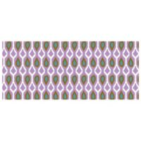 The Softer Side by Weather Guard™ 25-Inch x 60-Inch Clairebella Ikat Tribe Kitchen Runner in Violet