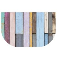 The Softer Side by Weather Guard™ 24-Inch x 40-Inch Colored Weathered Wood Kitchen Mat