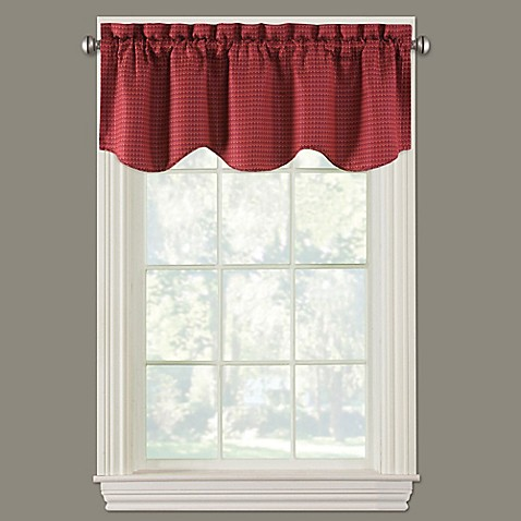 Fulton Scalloped Window Valance Bed Bath Amp Beyond