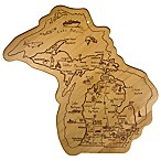 Totally Bamboo® MEGA Michigan Destination Cutting/Serving Board
