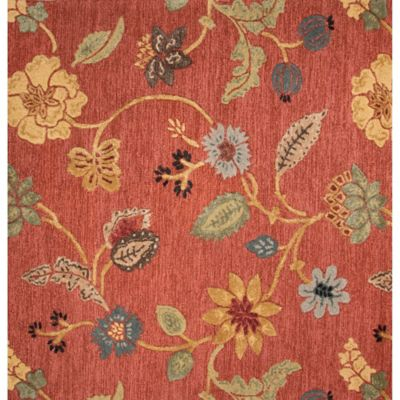 Buy Floral Square Area Rugs From Bed Bath Amp Beyond