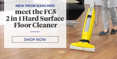 New Karcher Surface Cleaner