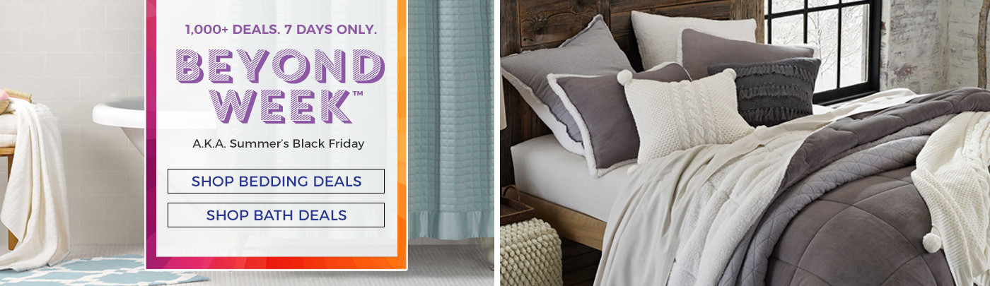 Shop Bedding and Bath Deals