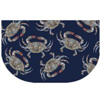 The Softer Side by Weather Guard™ 24-Inch x 40-Inch Blue Crabs Kitchen Mat