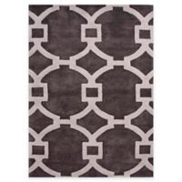 Jaipur Regency 2-Foot x 3-Foot Accent Rug in Ivory/Dark Grey