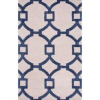 Jaipur Regency 2-Foot x 3-Foot Accent Rug in Ivory/Blue