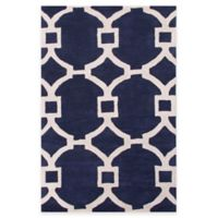 Jaipur Regency 5-Foot x 8-Foot Area Rug in Blue/Ivory