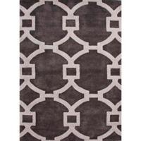 Jaipur Regency 9-Foot x 12-Foot Area Rug in Ivory/Dark Grey