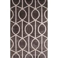 Jaipur City Seattle 2-Foot x 3-Foot Accent Rug in Grey/White