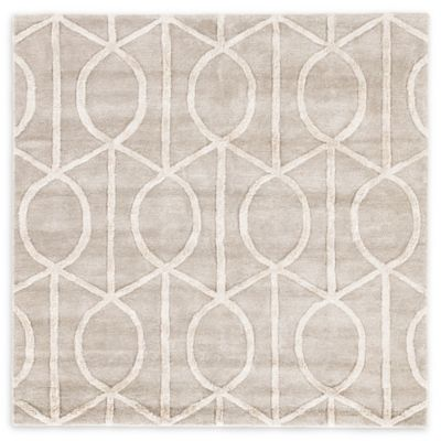 Jaipur City Seattle 6 Foot Square Area Rug In Taupe/Ivory