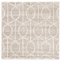 Jaipur City Seattle 6-Foot Square Area Rug in Taupe/Ivory