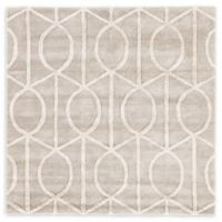Jaipur City Seattle 8-Foot Round Area Rug in Taupe/Ivory