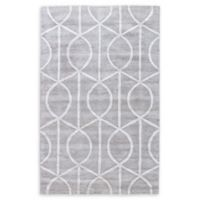 Jaipur City Seattle 9-Foot 6-Inch x 13-Foot 6-Inch Area Rug in Grey/Ivory