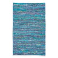 Feizy Kerala 1-Foot 8-Inch x 2-Foot 10-Inch Accent Rug in Teal