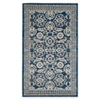 Safavieh Evoke Collection Laleh 3-Foot x 5-Foot Accent Rug in Royal/Ivory