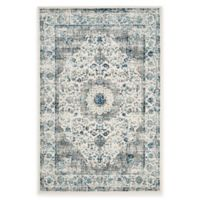 Safavieh Evoke Collection Mirza 3-Foot x 5-Foot Accent Rug in Grey/Ivory