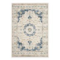 Safavieh Evoke Collection Mirza 5-Foot 1-Inch x 7-Foot 6-Inch Area Rug in Ivory/Blue