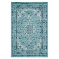 Safavieh Evoke Collection Mirza 5-Foot 1-Inch x 7-Foot 6-Inch Area Rug in Light Blue