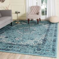 Safavieh Evoke Collection Mirza 6-Foot 7-Inch x 9-Foot Area Rug in Light Blue