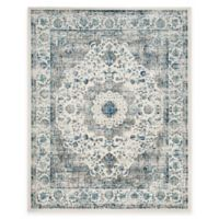 Safavieh Evoke Collection Mirza 6-Foot 7-Inch Square Area Rug in Grey/Ivory