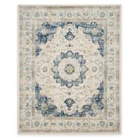 Safavieh Evoke Collection Mirza 8-Foot x 10-Foot Area Rug in Ivory/Blue