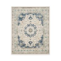 Safavieh Evoke Collection Mirza 9-Foot x 12-Foot Area Rug in Ivory/Blue