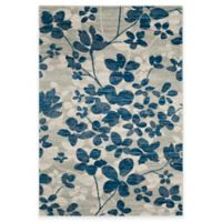 Safavieh Evoke Collection Flora 4-Foot x 6-Foot Area Rug in Grey/Light Blue