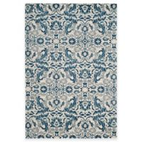 Safavieh Evoke Collection Grove 3-Foot x 5-Foot Accent Rug in Ivory/Blue