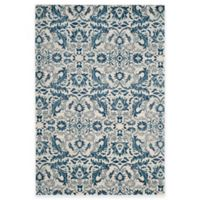 Safavieh Evoke Collection Grove 4-Foot x 6-Foot Area Rug in Ivory/Blue
