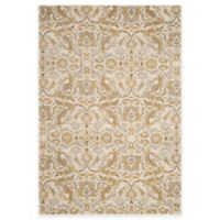 Safavieh Evoke Collection Grove 6-Foot 7-Inch x 9-Foot Area Rug in Ivory/Gold