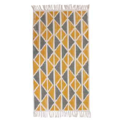 Thro Jeryl Printed 2-Foot 3-Inch x 3-Foot 4-Inch Accent Rug