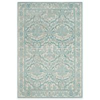 Safavieh Evoke Collection Jade 3-Foot x 5-Foot Accent Rug in Ivory/Light Blue