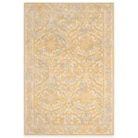 Safavieh Evoke Collection Jade 4-Foot x 6-Foot Area Rug in Ivory/Gold