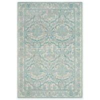 Safavieh Evoke Collection Jade 6-Foot 7-Inch x 9-Foot Area Rug in Ivory/Light Blue