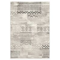 Safavieh Evoke Collection Southwest 4-Foot x 6-Foot Area Rug in Cream/Dark Grey